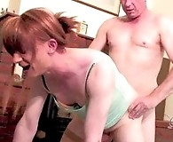 Lucky member gets too fuck Lucimay hard in the ass